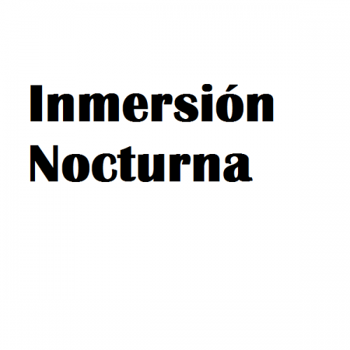 inmersion nocturna