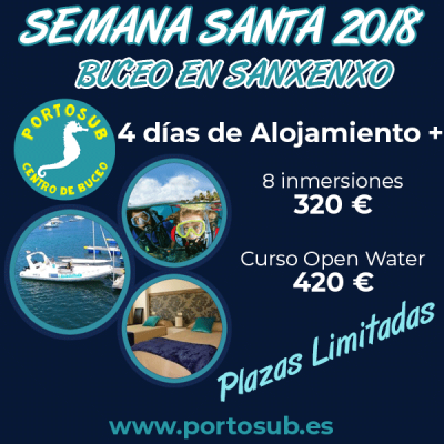 Portosub Easter Scuba Diving Offer