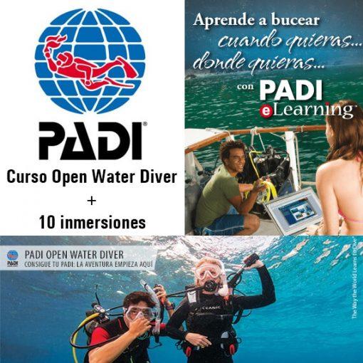 Curso de Buceo Open Water Diver + Inmersiones
