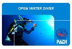 Certificación Open Water Diver PADI