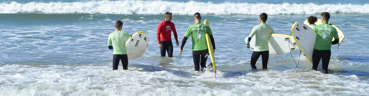 Clases de Surf A Lanzada