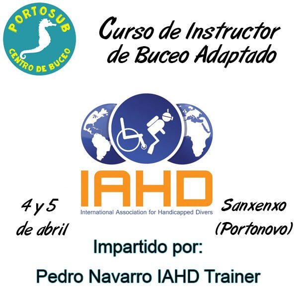 Curso de Instructor de Buceo Adaptado