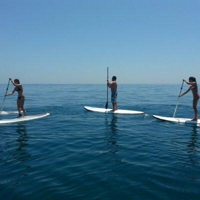 STAND UP PADDLE SURF SUP en Sanxenxo (Portonovo)