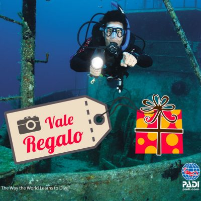 Give scuba diving courses as a present