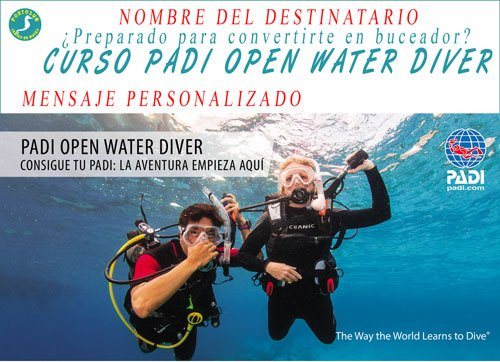 Vale Regalo Open Water