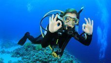 Diving in the Ons Islands