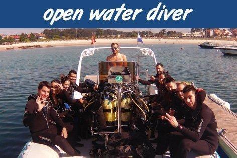 Curso Open Water Diver PADI