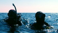 Inmersiones en mar
