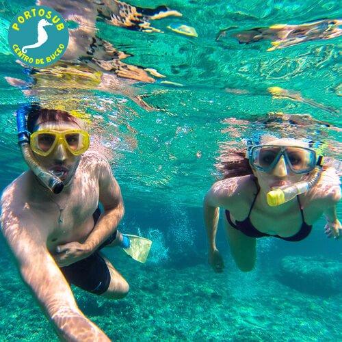 Snorkel en Sanxenxo 2